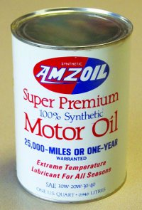 AMZOIL Can from 1972